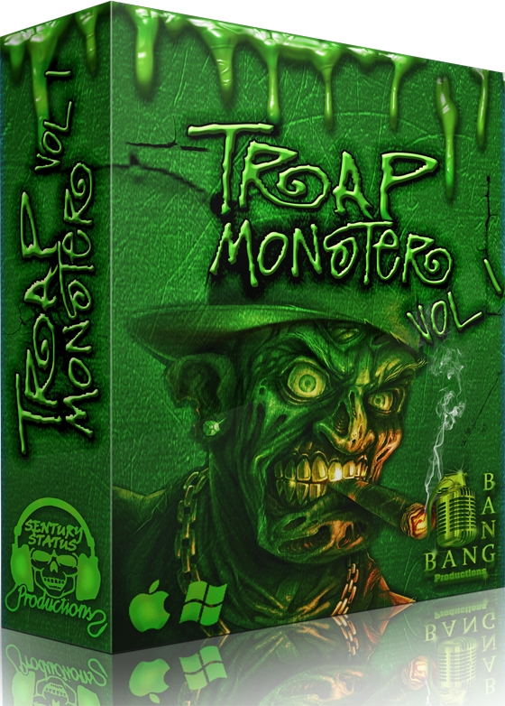 Sentury Status Trap Monster Vol.1 WAV MiDi